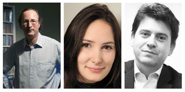 Christian Merlin, Elsa Fottorino et Sylvain Fort DR