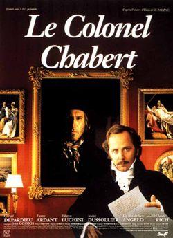Affiche du film Le Colonel Chabert d'Yves Angelo