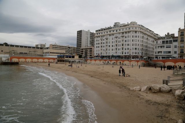 Marseille, plage des Catalans