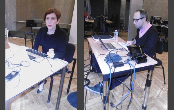 Valérie Vivancos et Rodolphe Alexis au studio 107