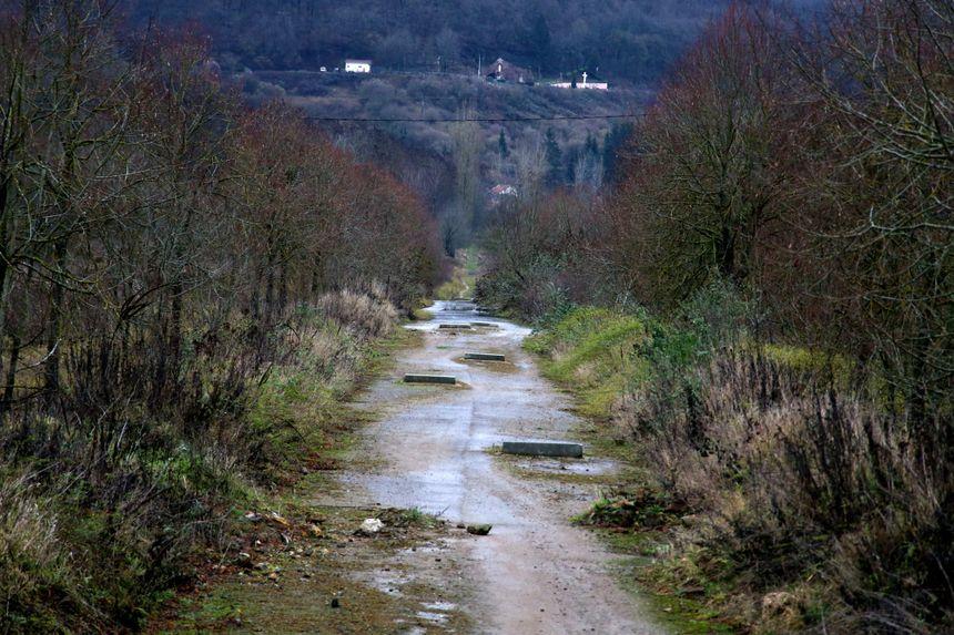 La friche industrielle de la ZAC de la Paix dans la vallée de la Fensch.