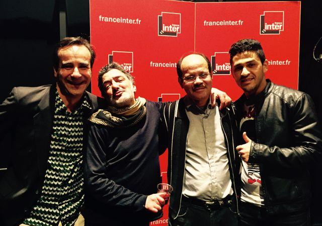 Michka Assayas, Rachid Taha, Bouziane Daoudi et Youness