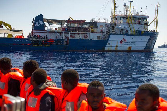 La fin des opérations de secours de MSF en Méditerranée