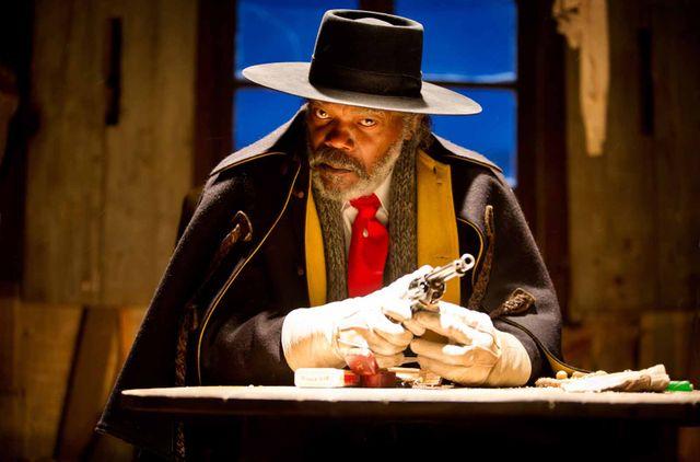 """Samuel L. Jackson dans """"Les Huit Salopards"""""""