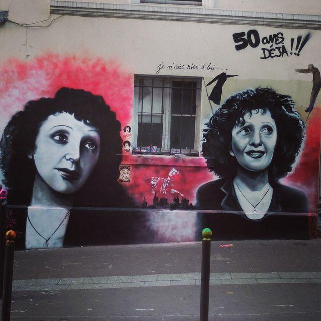 Edith Piaf à Belleville