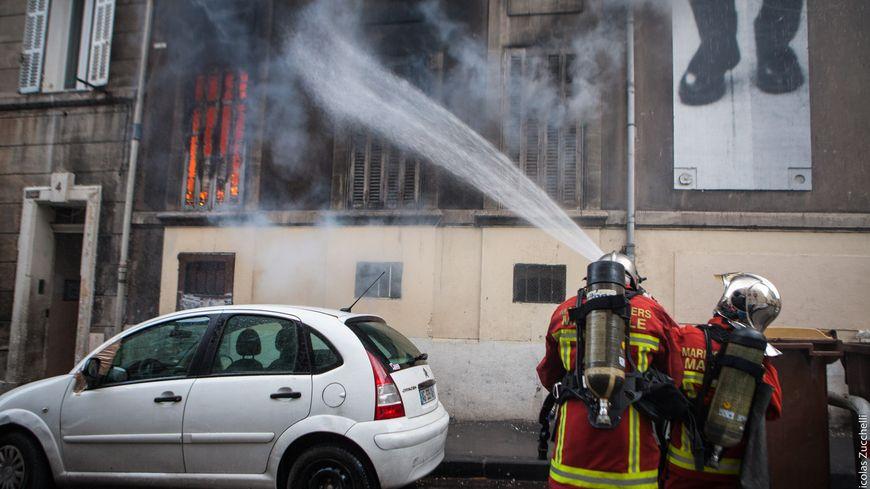23 marins-pompiers mobilisés pour venir à bout de cet incendie