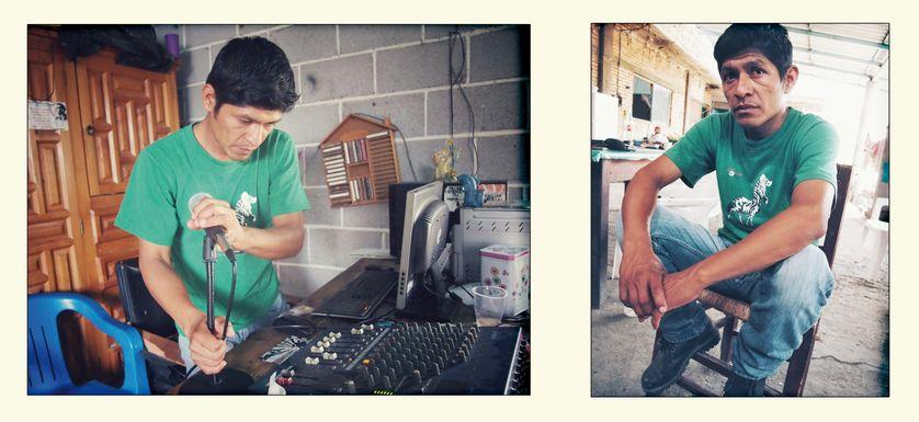 Studio de radio Amilzinko