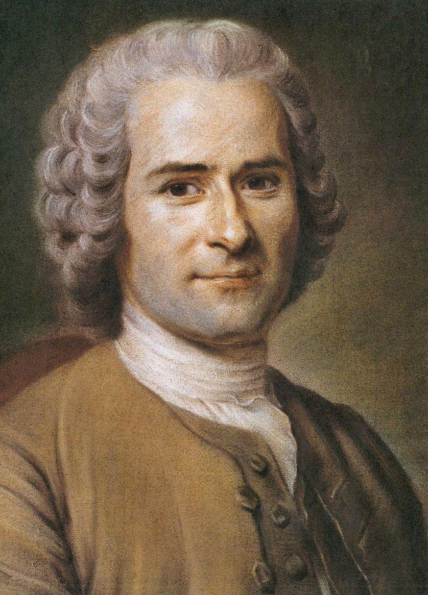 Rousseau par Quentin de La Tour