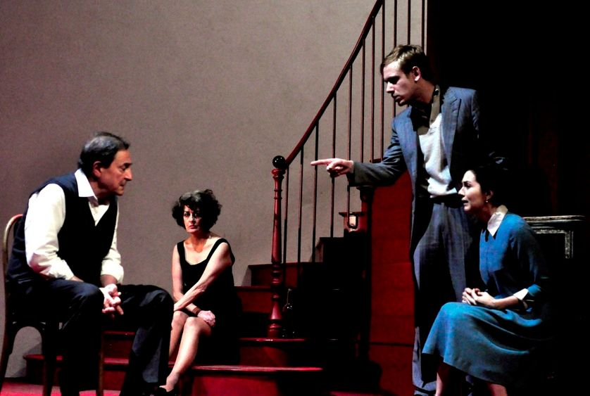 Wladimir Yordanoff, Dominique Valadié, Pierre-François Garel, Julia Faure