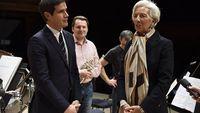 Christine Lagarde, marraine de la tournée américaine de l'Orchestre national de France