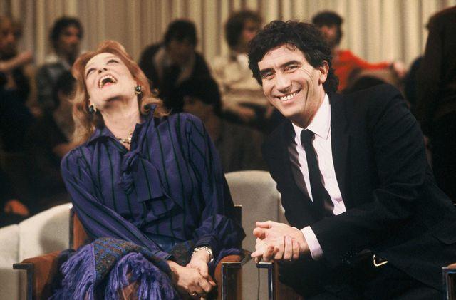 Mélina Mercouri et Jack Lang (1981)