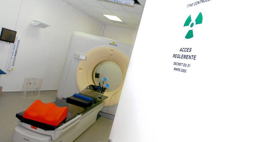 Un centre de radiothérapie - Illustration