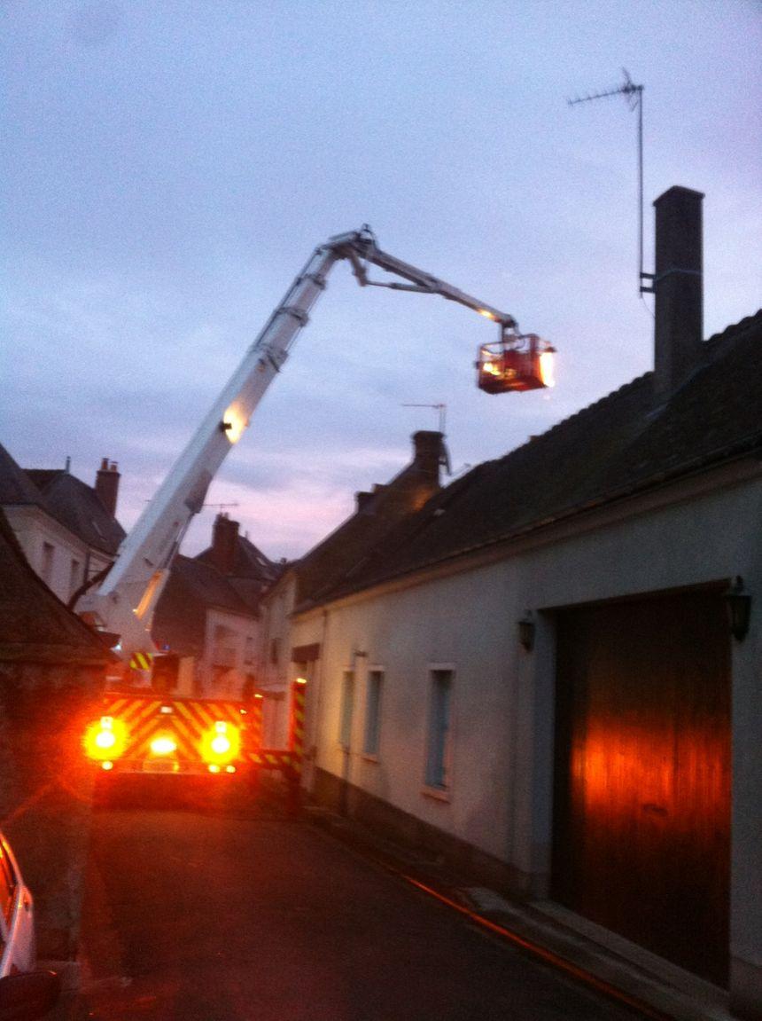 50 pompiers mobilisés pour maitriser le sinistre