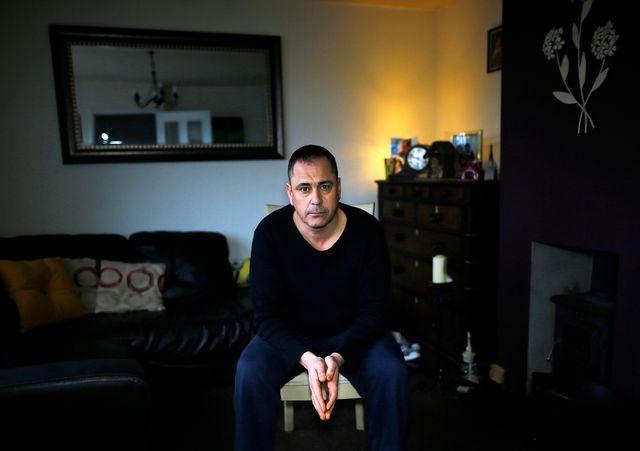 Rob Lawrie à son domicile dans la banlieue de Leeds