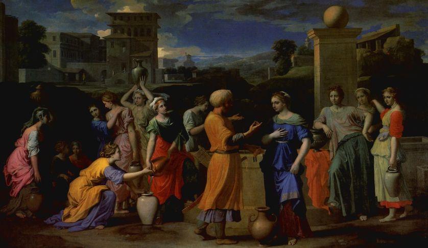 Nicolas Poussin, Eliézer et Rébecca, 1648