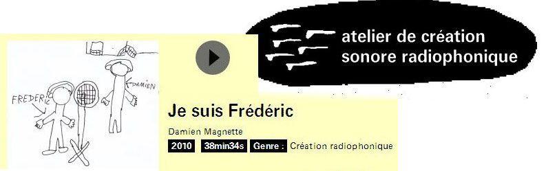 Je suis Frédéric