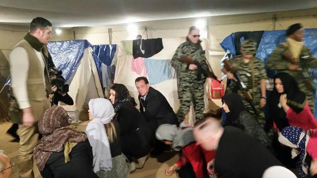 Dans la peau de migrants syriens