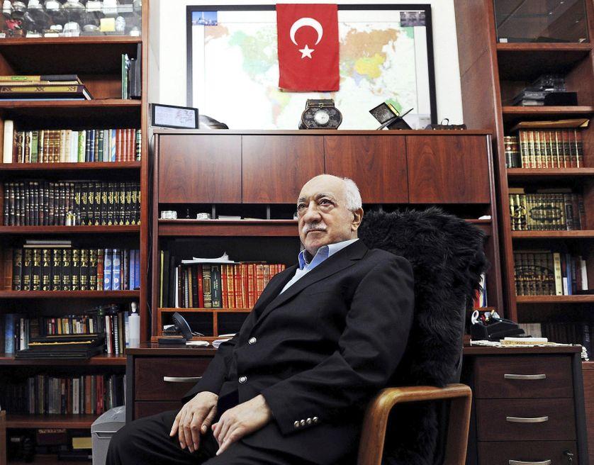L'intellectuel musulman et prédicateur Fethullah Gülen, en mars 2014 dans sa résidence de Pennsylvanie, aux Etats-Unis