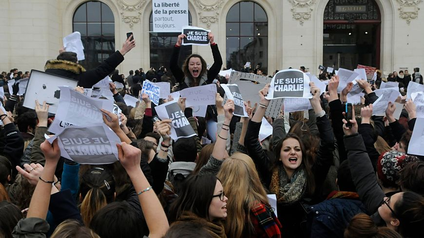 Emilien a organisé le rassemblement des lycéens à Poitiers en janvier 2015