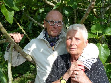 Portrait d'Anne et Patrick Poirier, juillet 2015