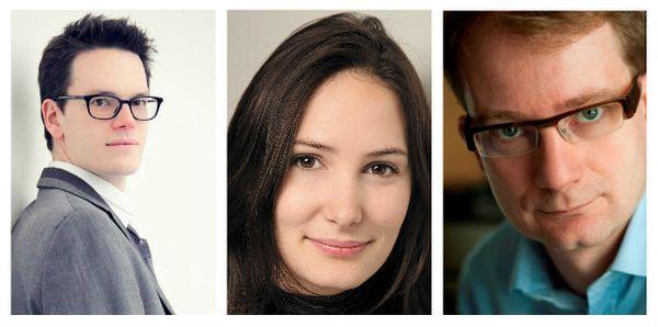 Antoine Mignon, Elsa Fottorino et Bertrand Dermoncourt DR