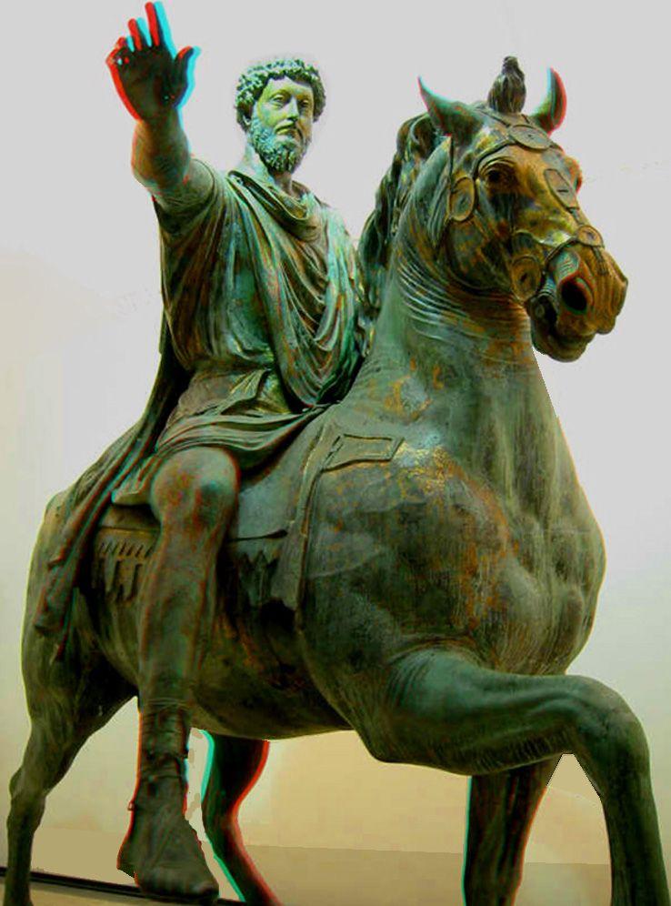 Statue de Marc Aurèle-Musée du Capitole