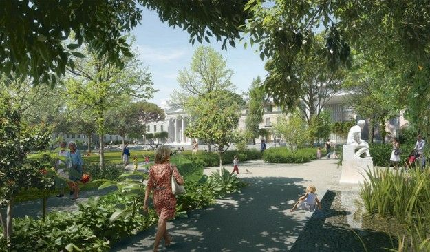 Réaménagement de l'ancien hôpital Chalucet, centre-ville de Toulon