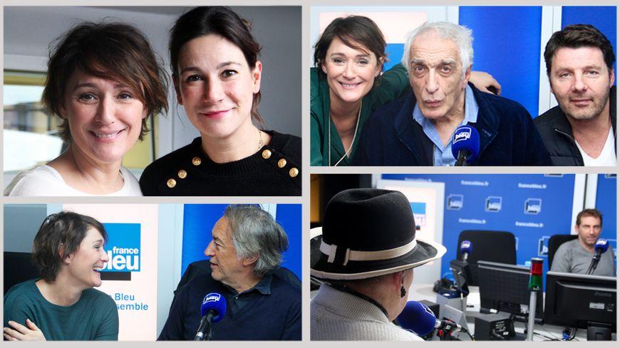 Virginie Hocq, Richard Berry, Gérard Darmon, Philippe Lellouche dans #FBME