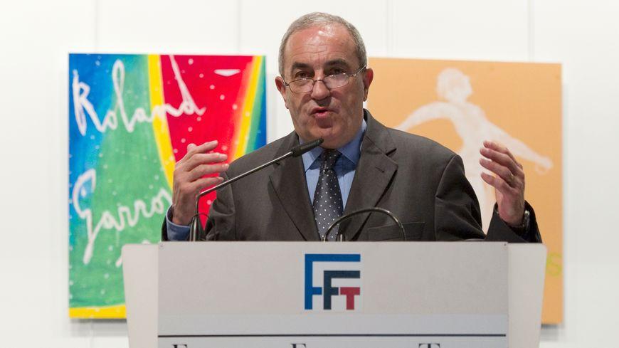 Jean Gachassin, le président de la FFT