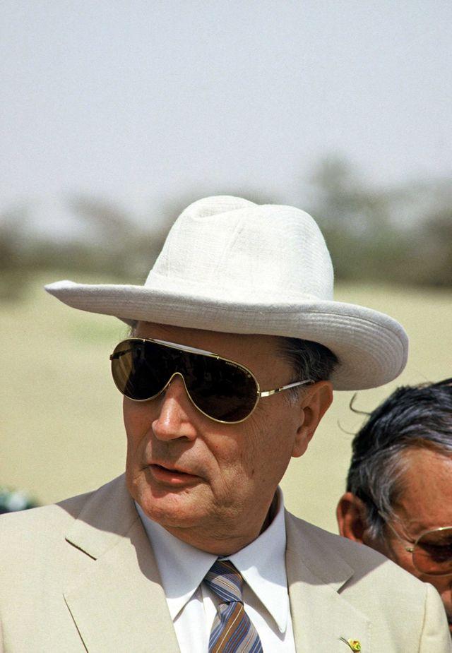 François Mitterrand, Mali 1986