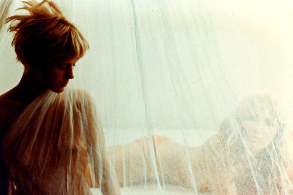 "Louise Wink dans le film ""More"" sorti en 1969"