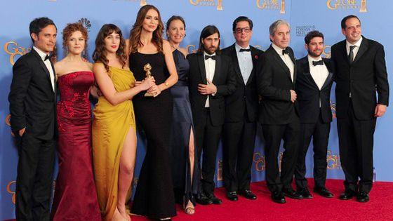 L'équipe de la série Mozart in the jungle à la cérémonie des Golden Globes ©MichaelOwenBaker/Corbis