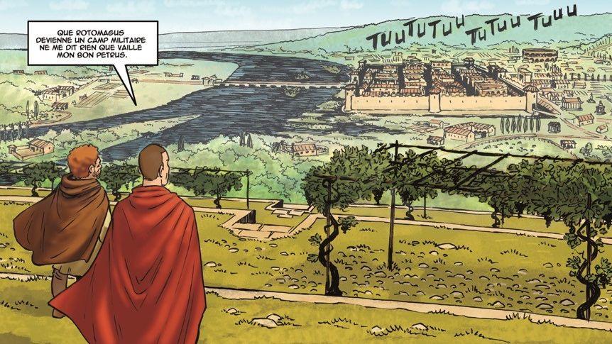 Le tome 1 se déroule des Gallo-Romains jusqu'aux Vikings