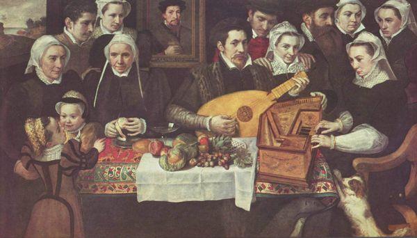 Frans Floris : Portrait de la famille van Berchem