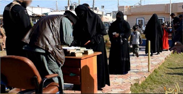 Image de propagande de l'Etat islamique