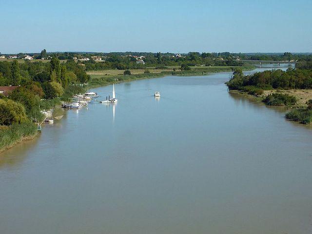 La Charente et le pont Saint Clément