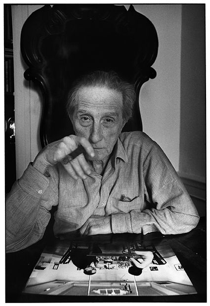 Marcel Duchamp, New York, 1965 © Estate Ugo Mulas, Milano - Courtesy Galleria Lia Rumma, Milano / Napoli
