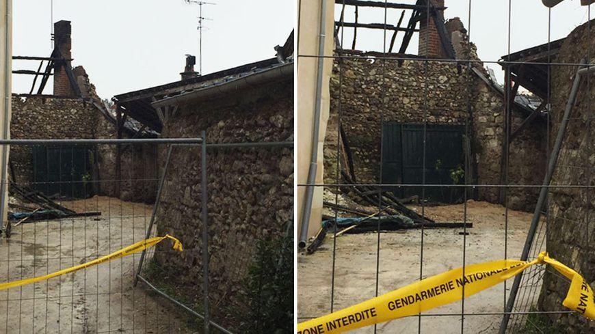 La mère de famille a péri dans l'incendie, ses trois filles ont échappé au feu