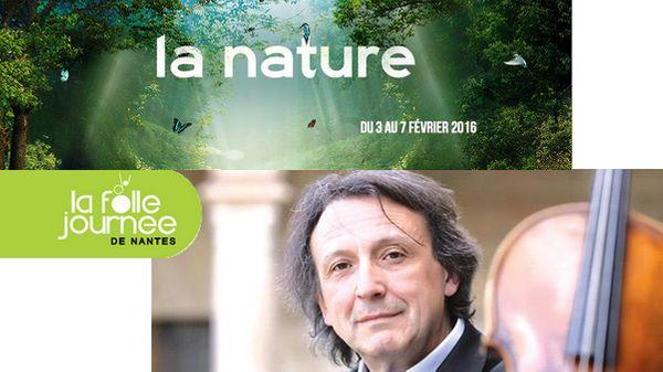 A gagner - Concert à la Folle Journée de Nantes : Gérard Caussé /Henri Demarquette /Quatuor Modigliani