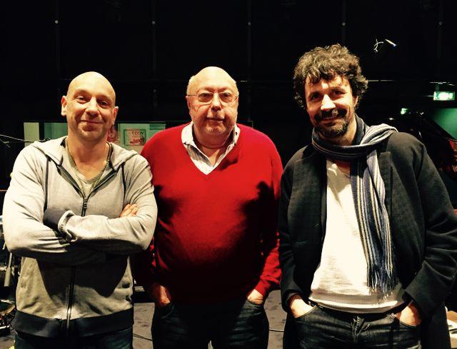 Yannick Dahan, Pierre Murat et Christophe Carrière