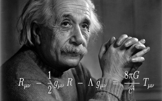 Albert Einstein et l'équation complète du champ gravitationnel