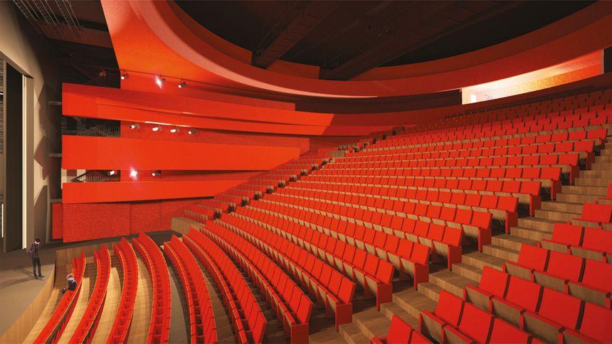 Une salle de spectacle