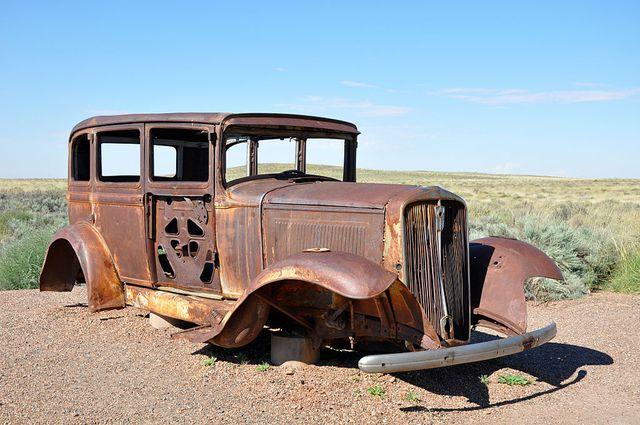 Auto immobile ne pollue pas