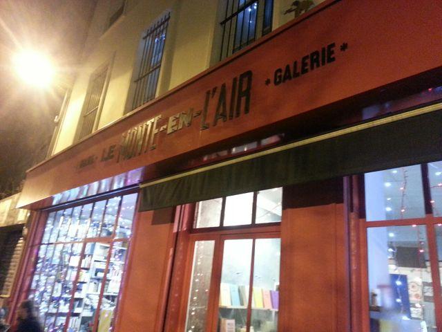 La librairie-galerie Le Monte-en-l'air à Paris dans le 20ème
