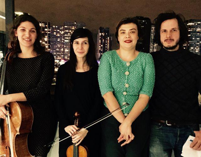 """""""On a dit on fait un spectacle"""" : Maeva Le Berre, Anne Gouverneur, Rosemary Standley et Simon Dalmais"""