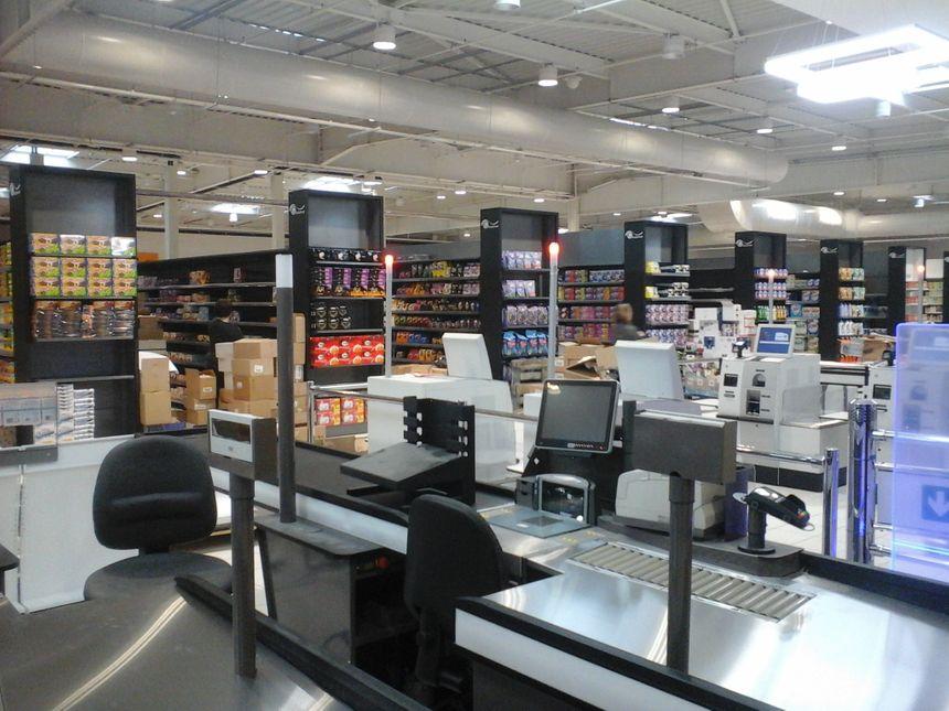 Les clients sont attendus ce mercredi dans le supermarché