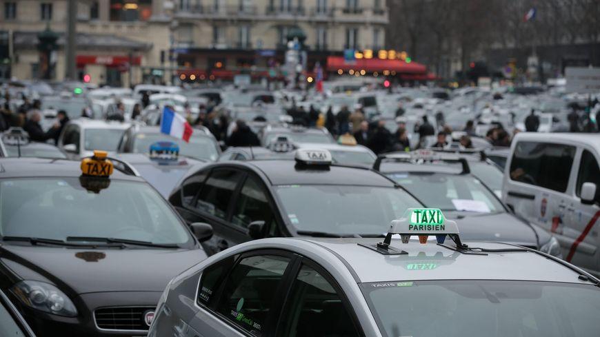 Les taxis à Paris