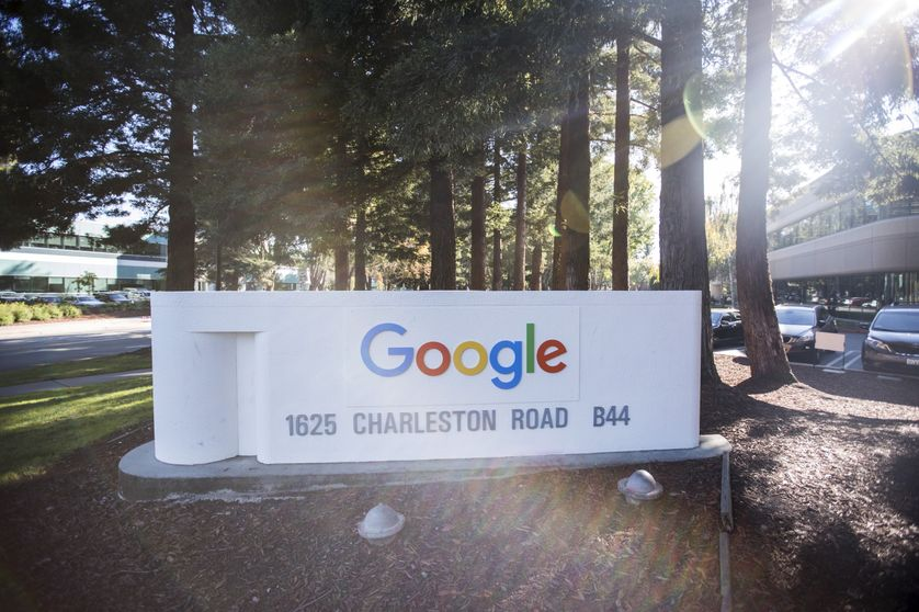Le siège de Google à Mountain View, Californie