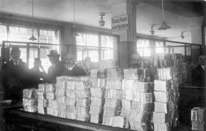 Hyperinflation en Allemagne dans les années 20