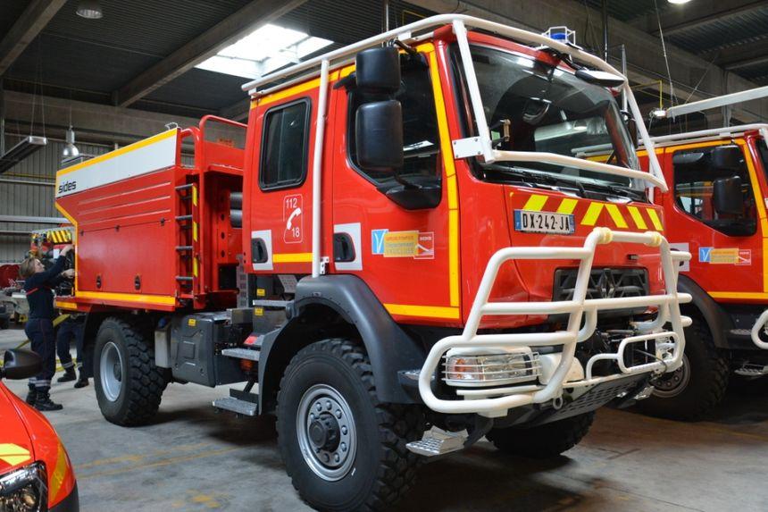 Véhicule des pompiers de Vaucluse